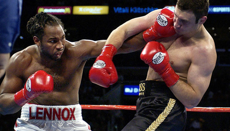 Lewis vs. Klitschko, June 21, 2003